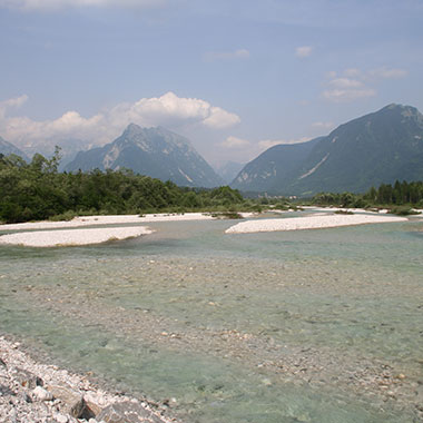 The Soča River