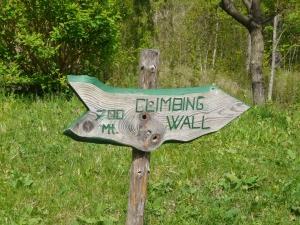 Tabla za plezalno steno Pri Žvikarju