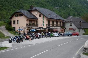 Gostilna Žvikar - Zbor motoristov